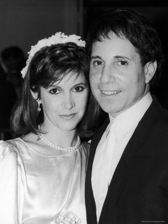 Carrie Fisher with Single