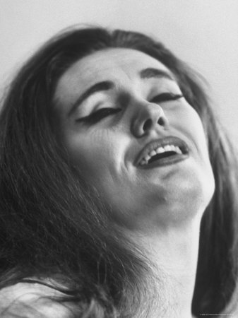 Opera Singer Joan Sutherland in the Title Role of