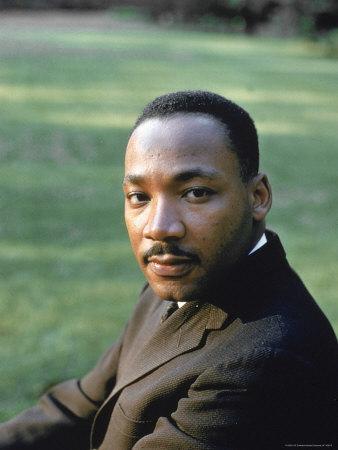 Rev. Martin Luther King, at Atlanta University for SCLC Sponsored Student Conf Metal Print by Howard Sochurek
