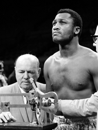 Boxer Joe Frazier at the Weigh in for His Fight Against Muhammad Ali Premium Photographic Print by John Shearer