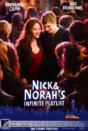 Nick And Norahs Infinite Playlist (Michael Cera, Kat Dennings) Movie Poster Posters