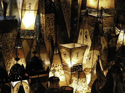 Lamps, Morocco Photographic Print by Pietro Simonetti