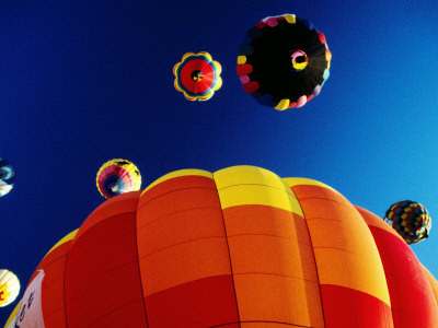 Hot-Air Balloons, Reno Balloon Festival, Reno, U.S.A. Lámina fotográfica por Levesque Kevin