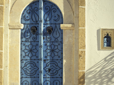Traditional Door Decorations, Tunisia Photographic Print by Michele Molinari