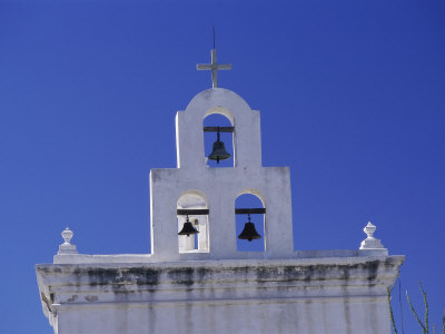 Mission San Xavier Del Bac, Arizona, USA Photographic Print