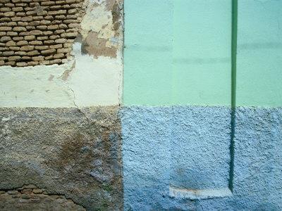 Colourful Walls, Tozeur, Tunisia Photographic Print by Martin Lladó