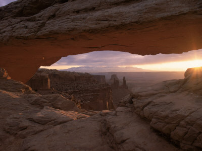 Sunrise, Mesa Arch, Canyonlands, UT Photographic Print by Gail Dohrmann