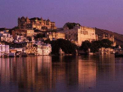 City Palace at Sunset, Udaipur, India Photographic Print by Dan Gair