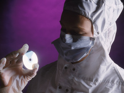Lab Technician with Lens Photographic Print by Tomas del Amo