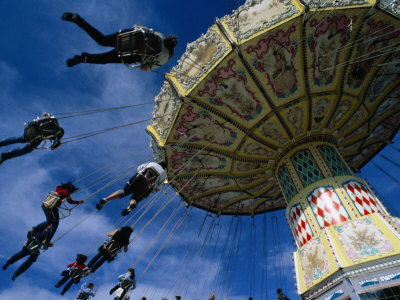 Ride at Royal Melbourne Show, Melbourne, Victoria, Australia Photographic Print by Phil Weymouth