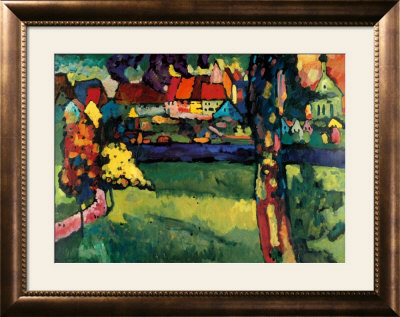 Murnau, 1909 Art by Wassily Kandinsky