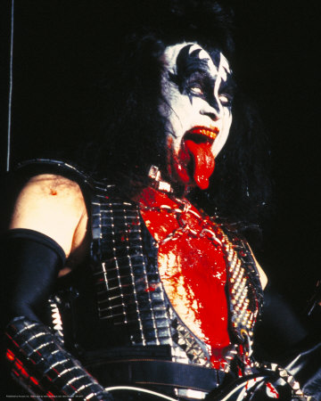 Kiss Gene Simmons Photo Na Allposters Pt