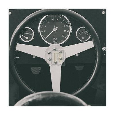 1959 Porsche Prints by  Retro Classics