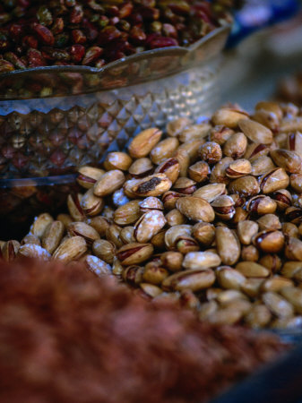 Pistachio Nuts for Sale in Bazaar Shiraz, Fars, Iran Photographic Print by Phil Weymouth