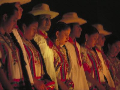 Dancer Performing at La Guelaguetza, Oaxaca, Mexico Photographic Print by Judith Haden