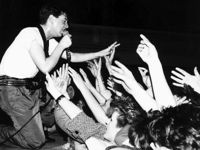 Scottish Pop Group Simple Minds, Still Sell out All Tickets for Theit New UK Tour Within 24 Hours Fotografisk tryk