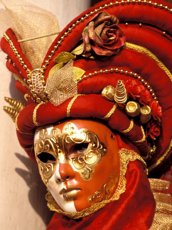 Traditional Costumes, Carnival, Venice, Italy Photographie