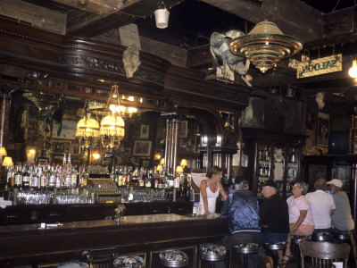 The Interior of the Oldest Bar in Colorado, Leadville, Colorado Photographic Print by Taylor S. Kennedy