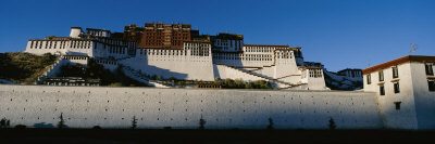 View of the Potala Palace in Tibet Photographic Print by Barry Tessman
