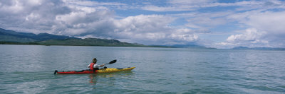 Kayaking Along the Yukon River Photographic Print by Barry Tessman