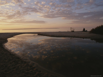 A Tidal Pool Reflects the Sky Above Photographic Print by Raymond Gehman
