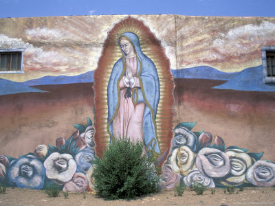 Virgen de Guadelupe, Chimayo, New Mexico, USA Photographic Print by Judith Haden