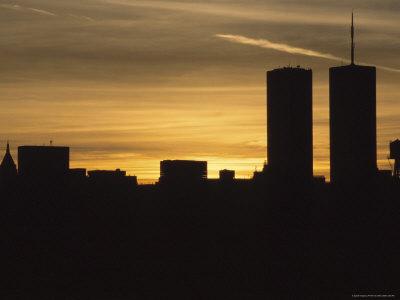 new york skyline silhouette. new york city skyline