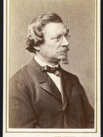 August Wilhelm Von Hofmann German Chemist Photographic Print