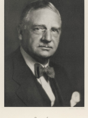 Otto Loewi American Pharmacologist Born in Germany Photographic Print
