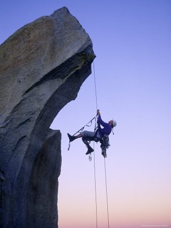 Rock Climbing, the Needles, CA Photographic Print by Greg Epperson