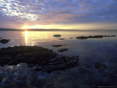 Sunset, Arran, Scotland Photographic Print by Iain Sarjeant