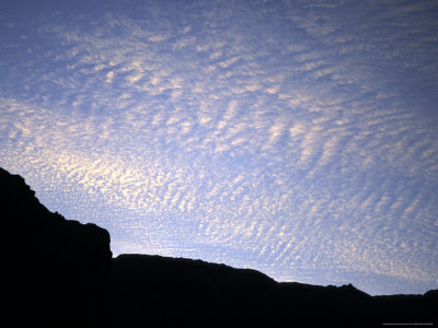Clouds at Sunset, Argentina Photographic Print by Michael Brown