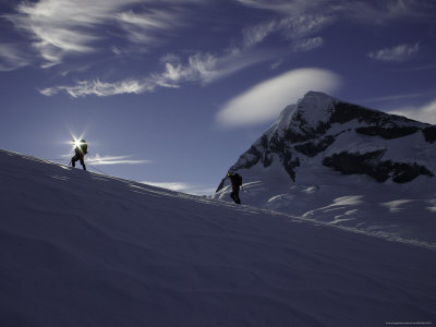Mountaineering on Mt. Aspiring, New Zealand Photographic Print by David D'angelo