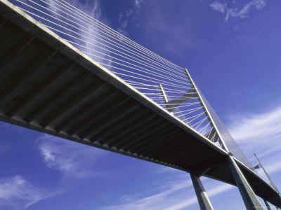 Dames Point Bridge, Jacksonville, Florida, USA Photographic Print