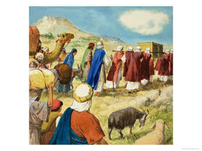 Moses in the Wilderness Giclee Print by Clive Uptton at AllPosters.