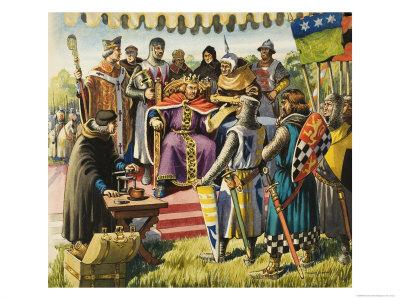 Magna Carta Giclee Print by Michael Godfrey