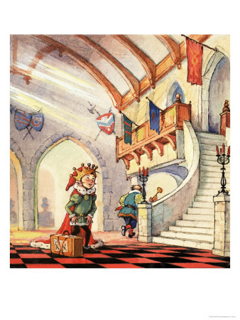 Norman Gnome reproduction procédé giclée