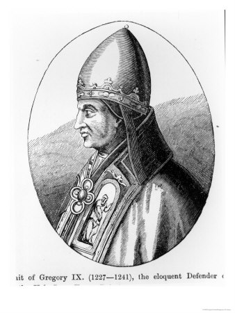 Portrait of Pope Gregory Ix Giclee Print at AllPosters.