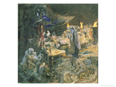 Eastern Tale, 1886 Giclée-Druck von Mikhail Aleksandrovich Vrubel