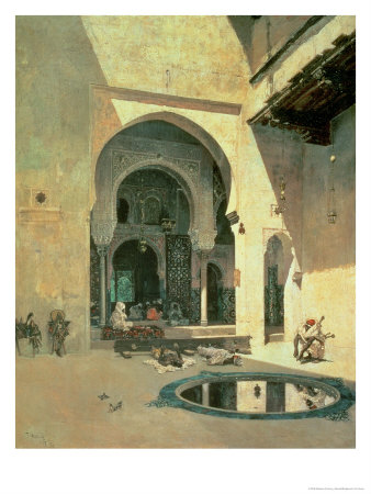The Court of the Alhambra, 1871 Giclee Print by Mariano Fortuny y Marsal