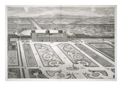 Palazzo Di Caserta, Dichiarazione Dei Disegni Del Reale Palazzo Di Caserta, Engraved Carlo Nolli Giclee Print by Luigi Vanvitelli