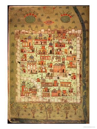 View of Diyarbakir Giclee Print by Nasuh Al-silahi