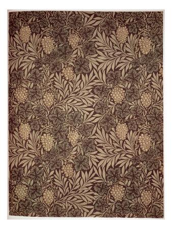 william morris wallpapers. Vine Wallpaper Design, 1873