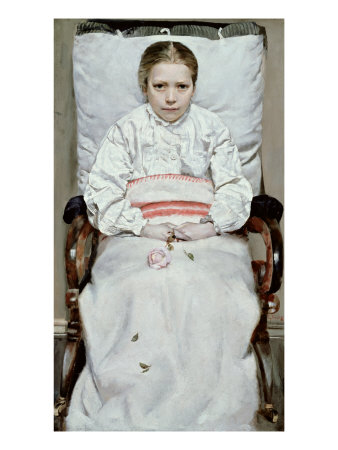 Sick Girl reproduction procédé giclée