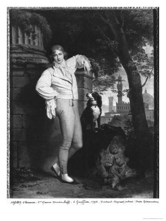 Portrait of a Man, 1796 Giclée-tryk