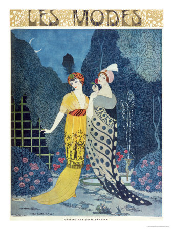 Les Modes Giclee Print by Georges Barbier