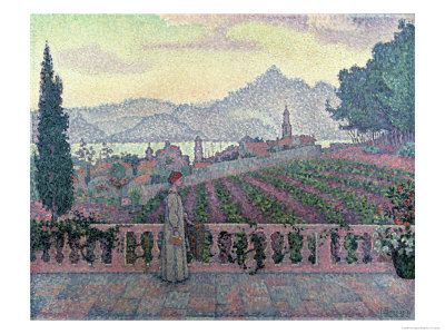 Woman on the Terrace, 1898 Giclee Print by Paul Signac
