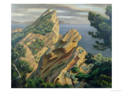 La Ciotat, Near Marseilles, 1923 Giclee Print by Roger Eliot Fry