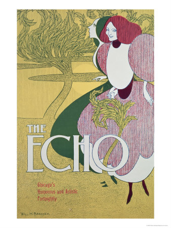 Front Cover of The Echo Giclee Print by William Bradley