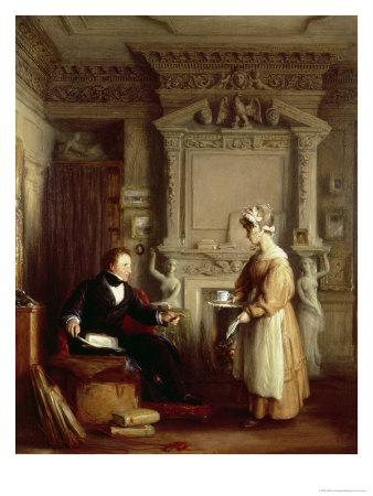 John Sheepshanks and His Maid Giclee Print by William Mulready